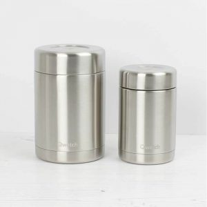 Pack-It-In-Zero-Waste-Living-Qwetch-insulated-stainless-steel-food-jar-brushed-steel-both