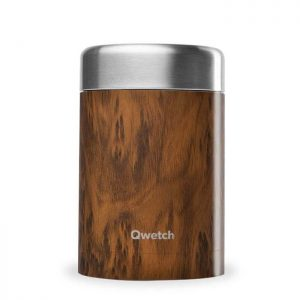 Pack-It-In-Zero-Waste-Living-Qwetch-insulated-stainless-steel-food-jar-wood
