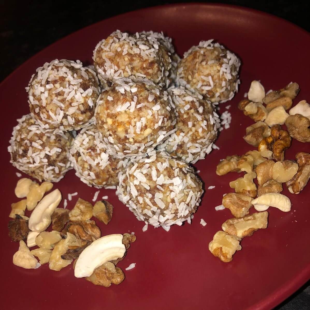 Spiced Apricot Bliss Balls