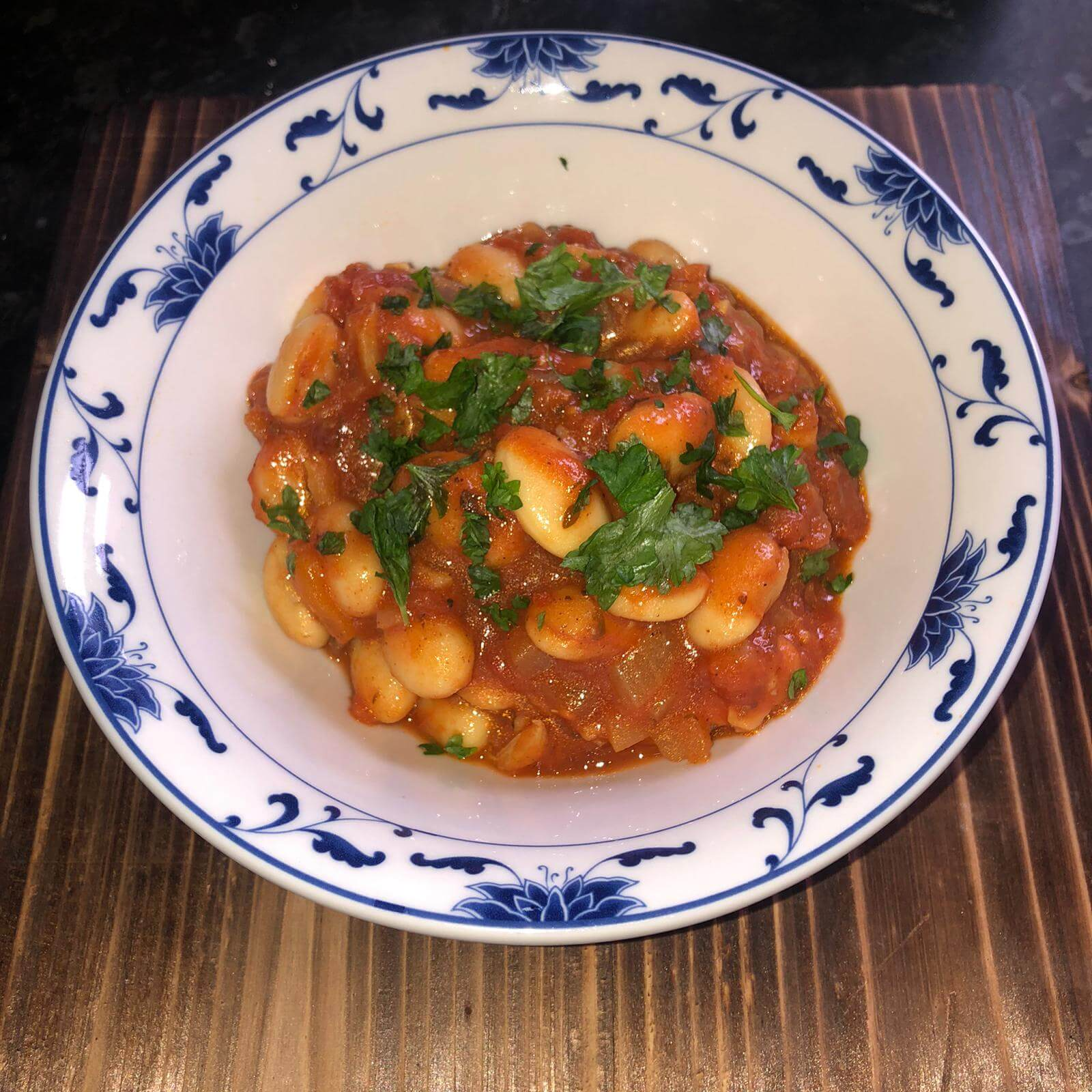 Gigantes Plaki (Greek Butter Beans)